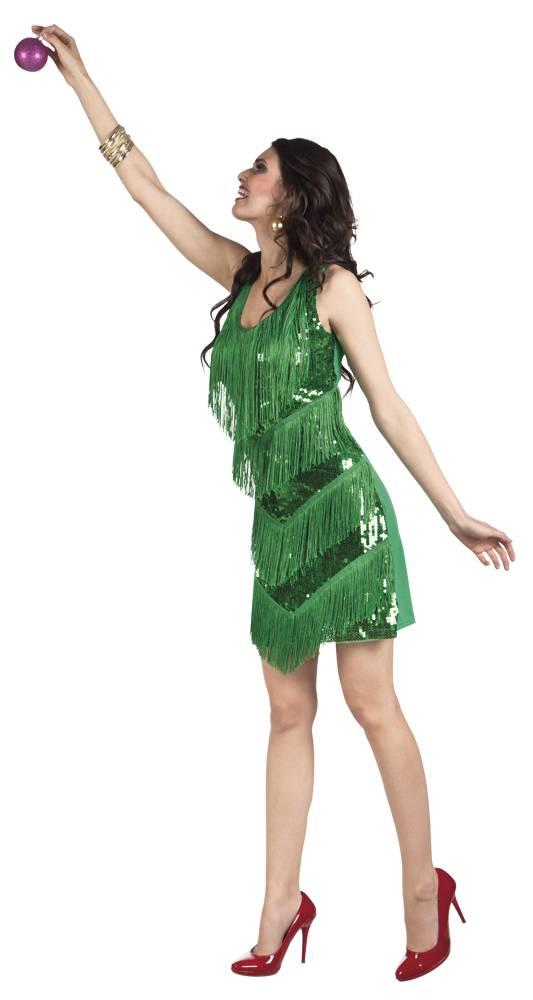 kerst jurk met pailletten