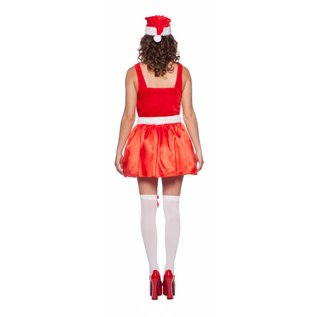 Santa Dress Kerst jurk met LED lichtjes