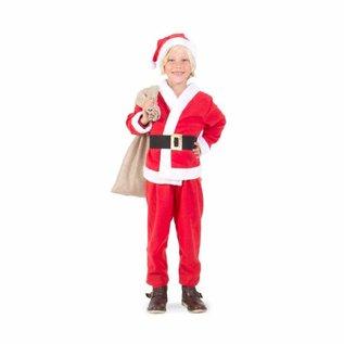 Kerstman jongens deluxe kostuum