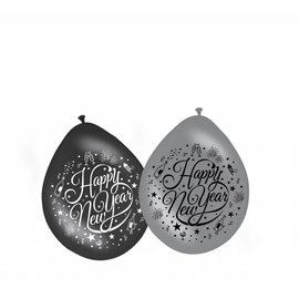 Happy New Year latex ballonnen
