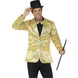 Heren jasje met gouden pailletten