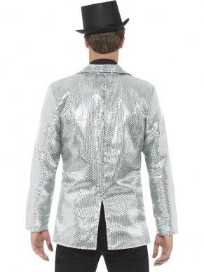 Heren jasje met zilveren pailletten