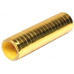 Metallic gouden serpentines 4 meter