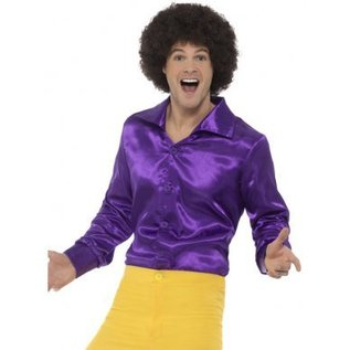 Glimmend 1960's jaren 60 heren shirt