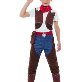 Deluxe Cowboy Jongens Verkleedkleding