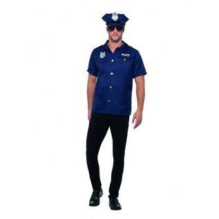 Us politie agent heren verkleedkostuum