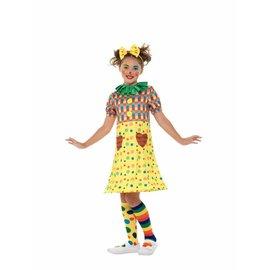 Meisjes Clown verkleedkostuum