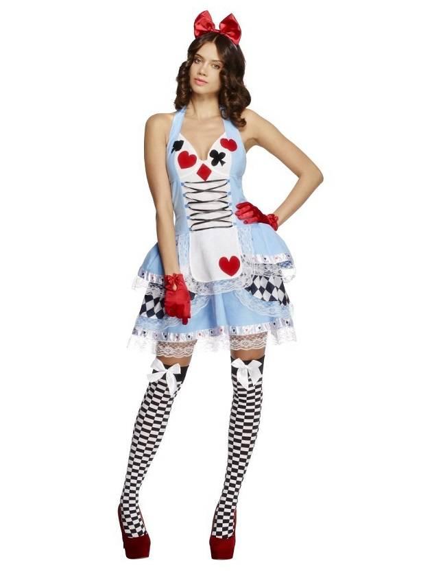 Halloween Sprookjes Kostuum.Alice In Wonderland Sprookjes Kostuum