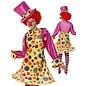 Dames clown kostuum