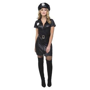 Sexy corrupte agente verkleedkleding
