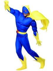 Kostuums Bananaman Verkleedkostuum
