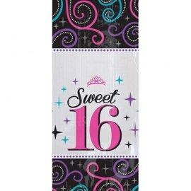 Sweet 16 snoep party bags