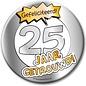 XL button 25 jaar getrouwd