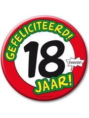 XL button 18 jaar