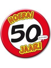 XL button 50 jaar