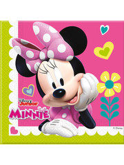 Minnie Mouse Happy Servetten