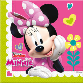 Minnie Mouse Happy Servetten