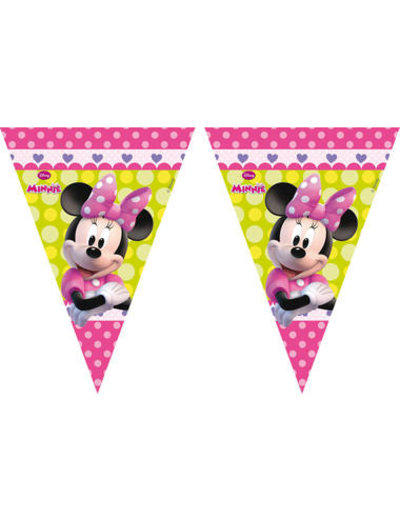 Minnie Mouse Happy Vlaggenlijn