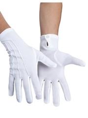 Witte handschoen Basic
