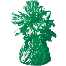 Groene Metallic Finish Folie Helium Ballongewicht