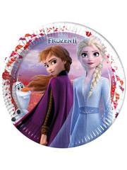 Bordjes Frozen 2 - 8stk
