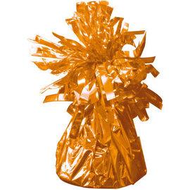 Oranje Metallic Finish Folie Helium Ballongewicht