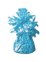 Baby Blauwe Metallic Finish Folie Helium Ballongewicht