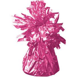 Magenta Roze Metallic Finish Folie Helium Ballongewicht
