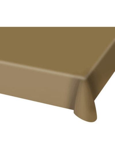 Gouden Plastic Tafelkleed