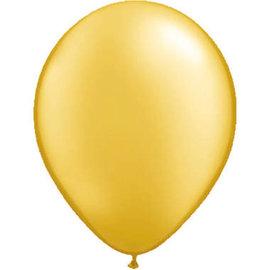 10x 5inch Gouden Ballonnen