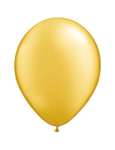 Ballonnen  Goud Metallic 13cm - 20stk