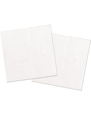 20x Witte Servetten