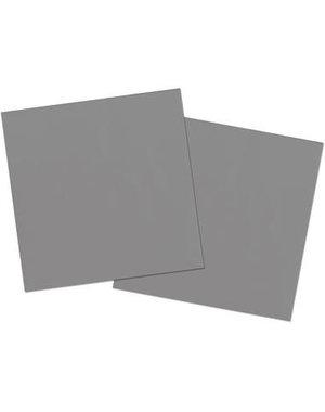 20x Zilveren Servetten
