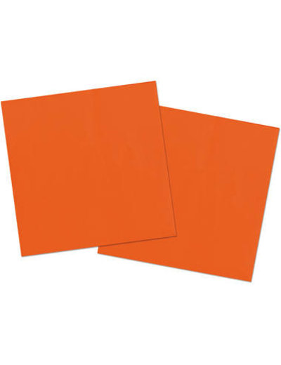 20x Oranje Servetten