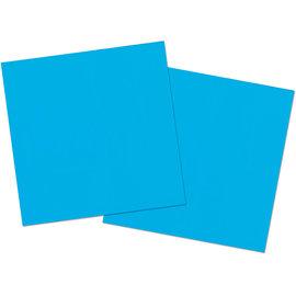 servies 20x Blauwe Servetten