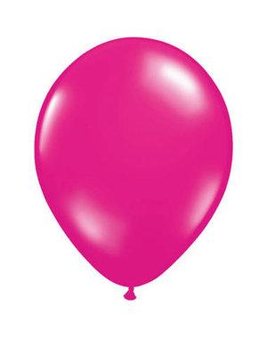 Ballonnen Magenta Roze 13cm - 20stk