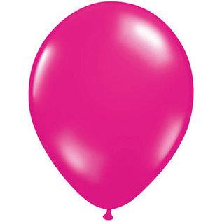 Ballonnen Latex 10x 5inch magenta roze ballonnen ballonnenfiguren maken