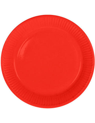 8x Rode Weggooi Bordjes