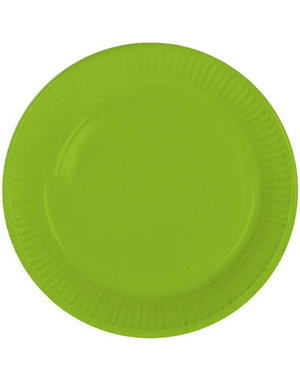 8x Groene Weggooi Bordjes