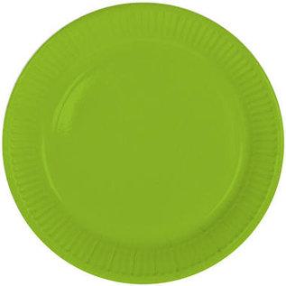 Servies 8x Groene Weggooi Bordjes Borden