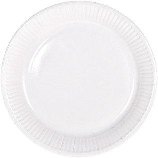 Servies 8x Witte Weggooi Bordjes