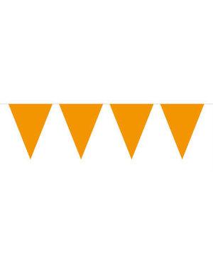 Vlaggenlijn Vlaggenlijn Oranje XL -  AANBIEDING