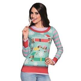 Kerst Kostuums Fotorealistisch Shirt - Wiener Wonderland