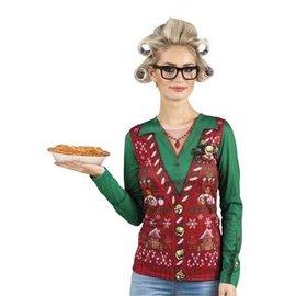 Kerst Kostuums Fotorealistisch Shirt - Corny Christmas