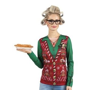 Kerst Kostuums Fotorealistisch Shirt Corny Christmas