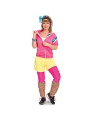 Kostuums Eighties Trainingspak - Dames