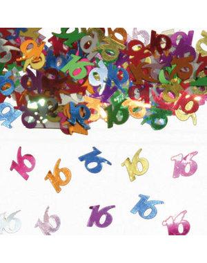 Confetti Leeftijd 16 Jaar