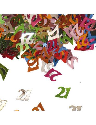 Confetti Leeftijd 21 Jaar