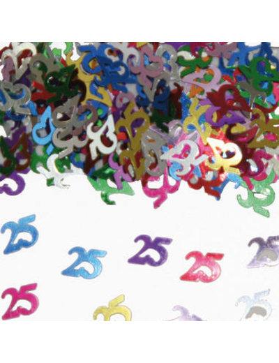 Confetti Leeftijd 25 Jaar