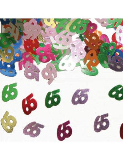 Confetti Leeftijd 65 Jaar